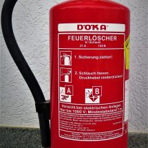 Überprüfung Feuerlöscher